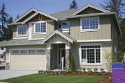 Contemporary Style House Plan - 4 Beds 2.5 Baths 2891 Sq/Ft Plan #951-3 Exterior - Front Elevation