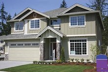 Contemporary Exterior - Front Elevation Plan #951-3