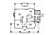Craftsman Style House Plan - 3 Beds 3 Baths 3315 Sq/Ft Plan #1058-79 Floor Plan - Main Floor Plan