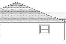 Adobe / Southwestern Exterior - Other Elevation Plan #1058-134