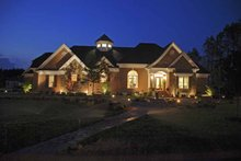 Architectural House Design - Country Exterior - Front Elevation Plan #952-78
