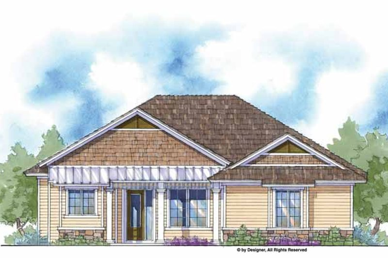 House Design - Country Exterior - Front Elevation Plan #938-4