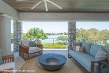 Dream House Plan - Modern Exterior - Outdoor Living Plan #930-519