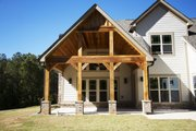 Traditional Style House Plan - 4 Beds 3 Baths 2899 Sq/Ft Plan #927-6 Exterior - Rear Elevation