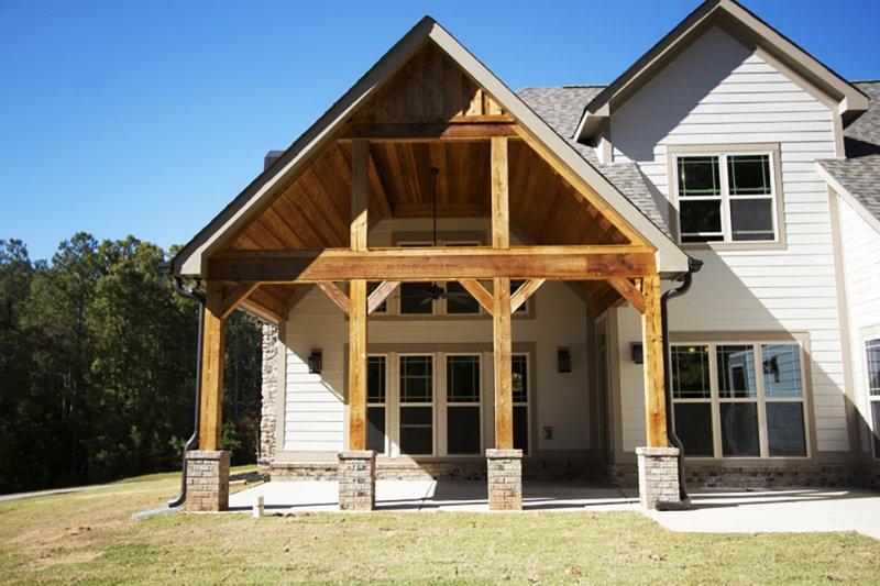 Traditional Exterior - Outdoor Living Plan #927-6 - Houseplans.com