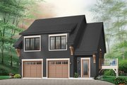 Traditional Style House Plan - 2 Beds 1.5 Baths 1068 Sq/Ft Plan #23-444