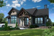 Craftsman Exterior - Front Elevation Plan #23-2664