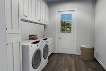 Dream House Plan - European Interior - Laundry Plan #1060-75