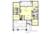 Craftsman Style House Plan - 3 Beds 2.5 Baths 2108 Sq/Ft Plan #921-21 Floor Plan - Main Floor Plan