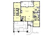 Craftsman Style House Plan - 3 Beds 2.5 Baths 2108 Sq/Ft Plan #921-21 Floor Plan - Main Floor Plan