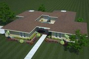 Ranch Style House Plan - 3 Beds 2 Baths 2194 Sq/Ft Plan #312-505 Photo