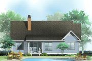 Ranch Style House Plan - 3 Beds 2 Baths 1457 Sq/Ft Plan #929-665 Exterior - Front Elevation