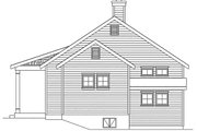 Cottage Style House Plan - 1 Beds 1 Baths 790 Sq/Ft Plan #22-591