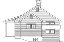 House Plan Design - Cottage Exterior - Other Elevation Plan #22-591