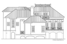 Country Exterior - Rear Elevation Plan #930-89