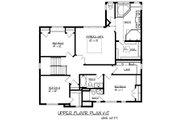 Traditional Style House Plan - 4 Beds 3.5 Baths 3074 Sq/Ft Plan #320-487 Floor Plan - Upper Floor Plan