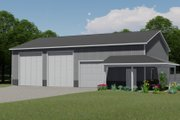 Country Style House Plan - 0 Beds 0 Baths 2400 Sq/Ft Plan #1064-52 Exterior - Front Elevation