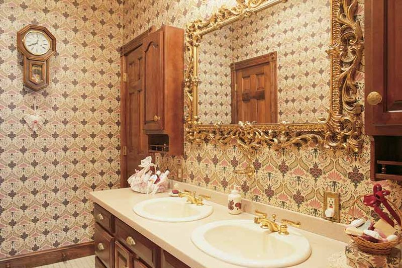 Victorian Interior - Bathroom Plan #1014-25 - Houseplans.com
