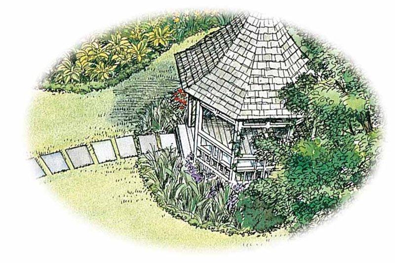 Exterior - Front Elevation Plan #1040-73 - Houseplans.com