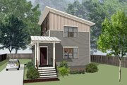 Modern Style House Plan - 3 Beds 2.5 Baths 1860 Sq/Ft Plan #79-319