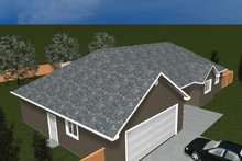 Dream House Plan - Ranch Exterior - Other Elevation Plan #1060-35