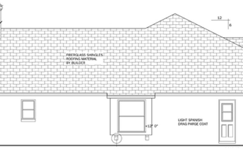 Mediterranean Exterior - Other Elevation Plan #1058-42 - Houseplans.com