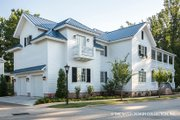 Classical Style House Plan - 3 Beds 4.5 Baths 4134 Sq/Ft Plan #930-460