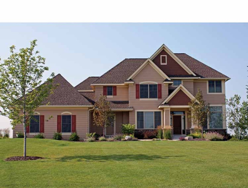 Traditional Exterior - Front Elevation Plan #51-1064