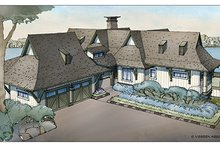 Craftsman Exterior - Front Elevation Plan #928-252