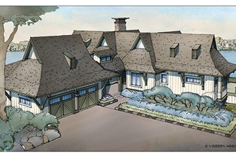 Craftsman Exterior - Front Elevation Plan #928-252 - Houseplans.com