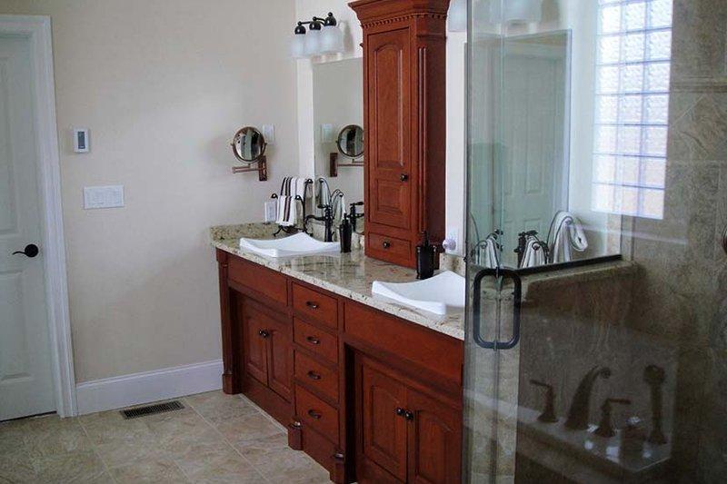 Country Interior - Master Bathroom Plan #927-642 - Houseplans.com