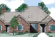 House Plan Design - Traditional Exterior - Front Elevation Plan #52-284