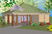 Southern Style House Plan - 3 Beds 1.5 Baths 1087 Sq/Ft Plan #8-308