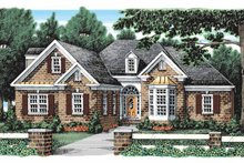 House Plan Design - Traditional Exterior - Front Elevation Plan #927-921