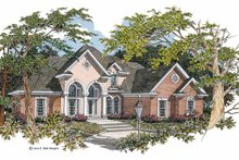 House Design - Mediterranean Exterior - Front Elevation Plan #952-44