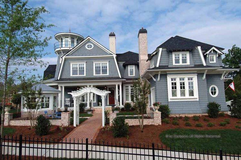 Dream House Plan - Craftsman Exterior - Front Elevation Plan #54-340
