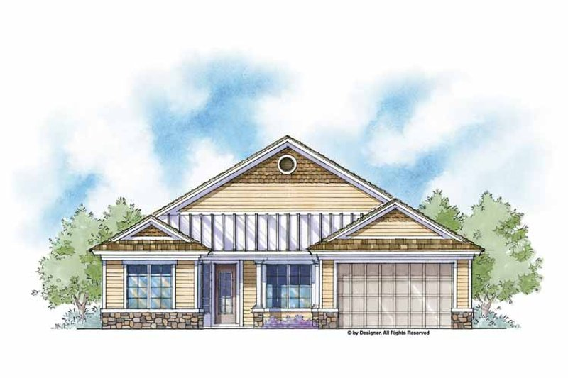 Country Exterior - Front Elevation Plan #938-1 - Houseplans.com