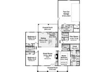 Traditional Floor Plan - Main Floor Plan Plan #21-430
