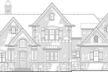 Home Plan - European Exterior - Front Elevation Plan #119-420