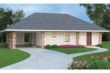 Architectural House Design - European Exterior - Front Elevation Plan #45-560