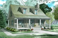 Craftsman Exterior - Front Elevation Plan #17-3150