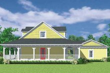 House Plan Design - Victorian Exterior - Other Elevation Plan #72-1130