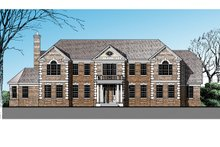 Classical Exterior - Front Elevation Plan #1029-64