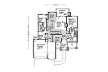 Ranch Floor Plan - Main Floor Plan Plan #310-1311