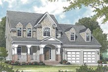 Architectural House Design - Country Exterior - Front Elevation Plan #453-530
