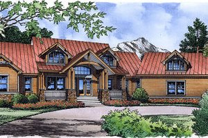 Traditional Exterior - Front Elevation Plan #417-410