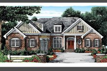 Country Exterior - Front Elevation Plan #927-879