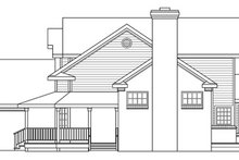 Architectural House Design - Farmhouse Exterior - Other Elevation Plan #124-189