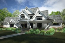 Dream House Plan - Country Exterior - Front Elevation Plan #120-250