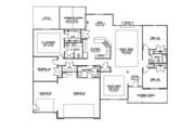Ranch Style House Plan - 4 Beds 2 Baths 2373 Sq/Ft Plan #1064-8 Floor Plan - Main Floor